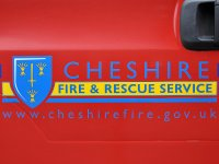 cheshire fire rescue engine logo