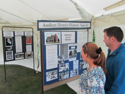 History Society display on Highfields