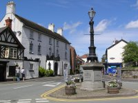 Memorial in Audlem Square