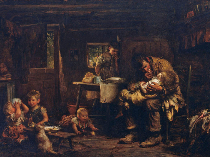 Peterloox sir_luke_fildes_ _the_widower_ _google_art_project Ed