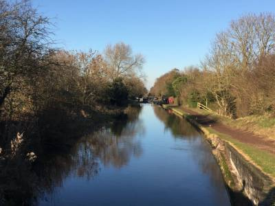 Winter Canal Scenes Jan 2017